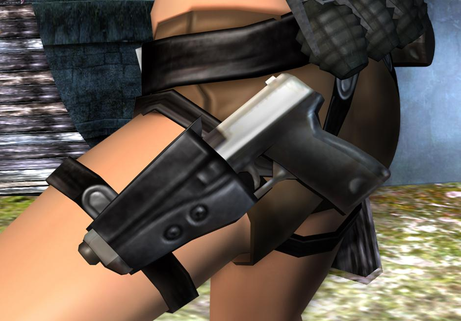How To Make The Tomb Raider Legend Belt And Holsters