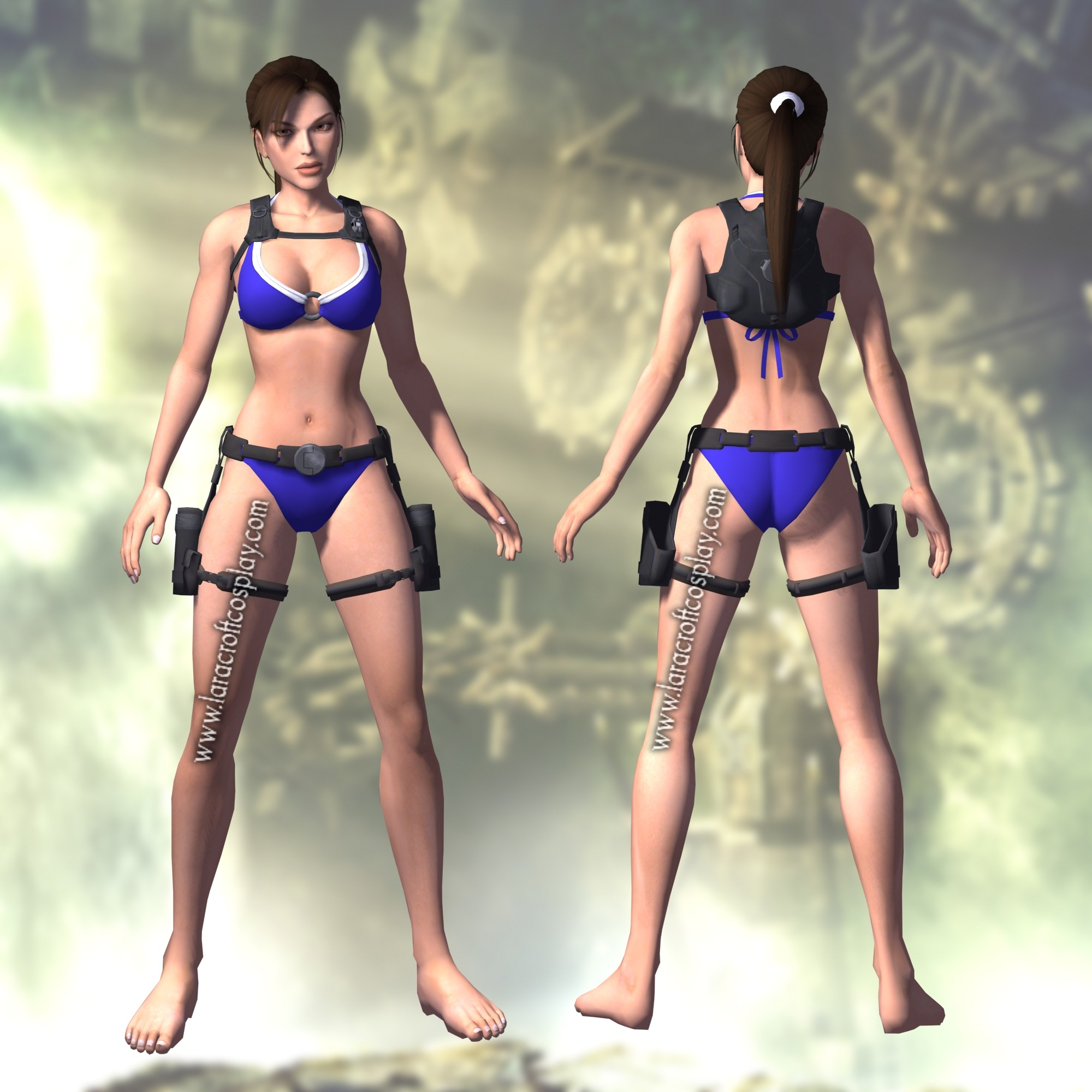 Lara croft underworld bikini breasts erotic download