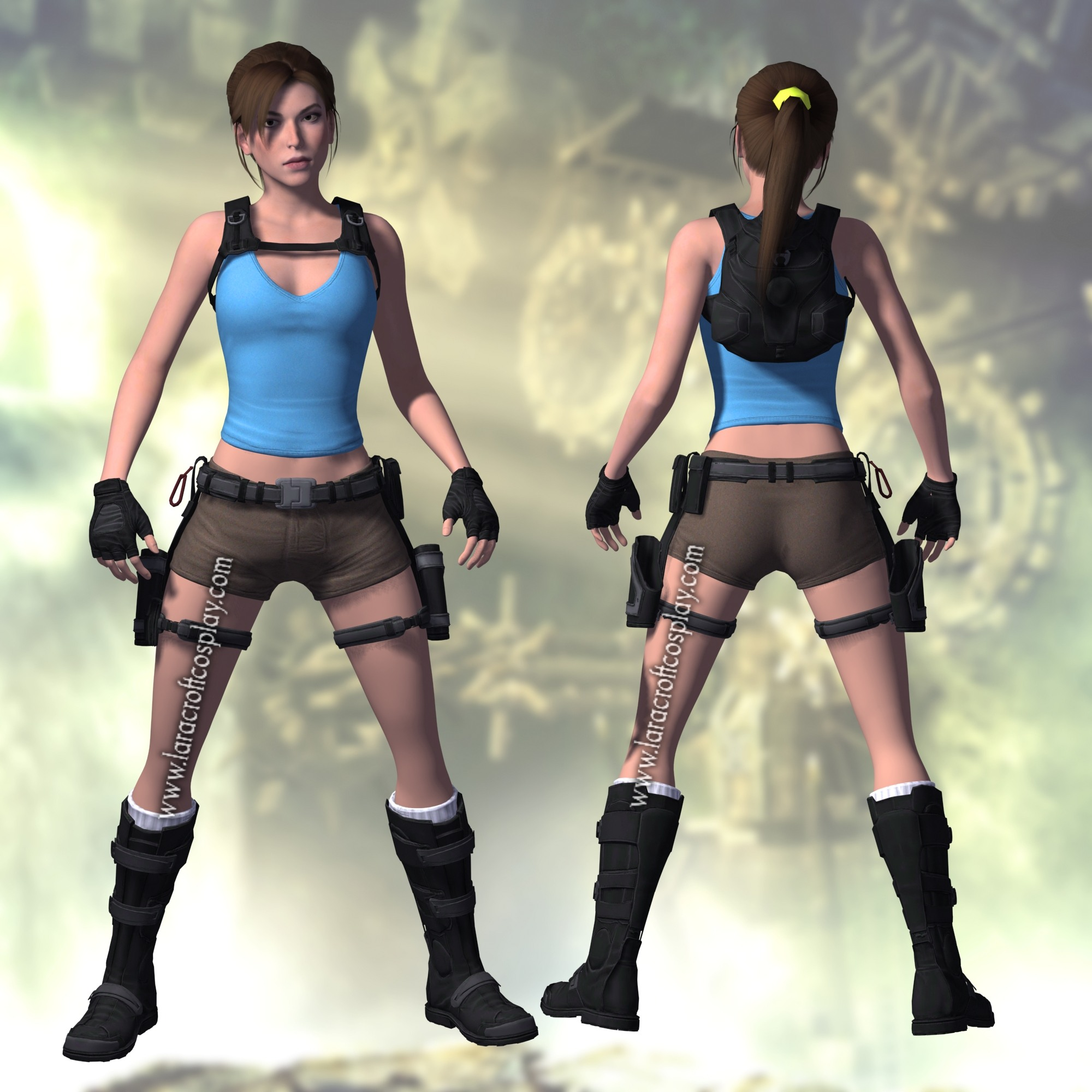 lara croft and the temple of osiris costume breakdown. Black Bedroom Furniture Sets. Home Design Ideas