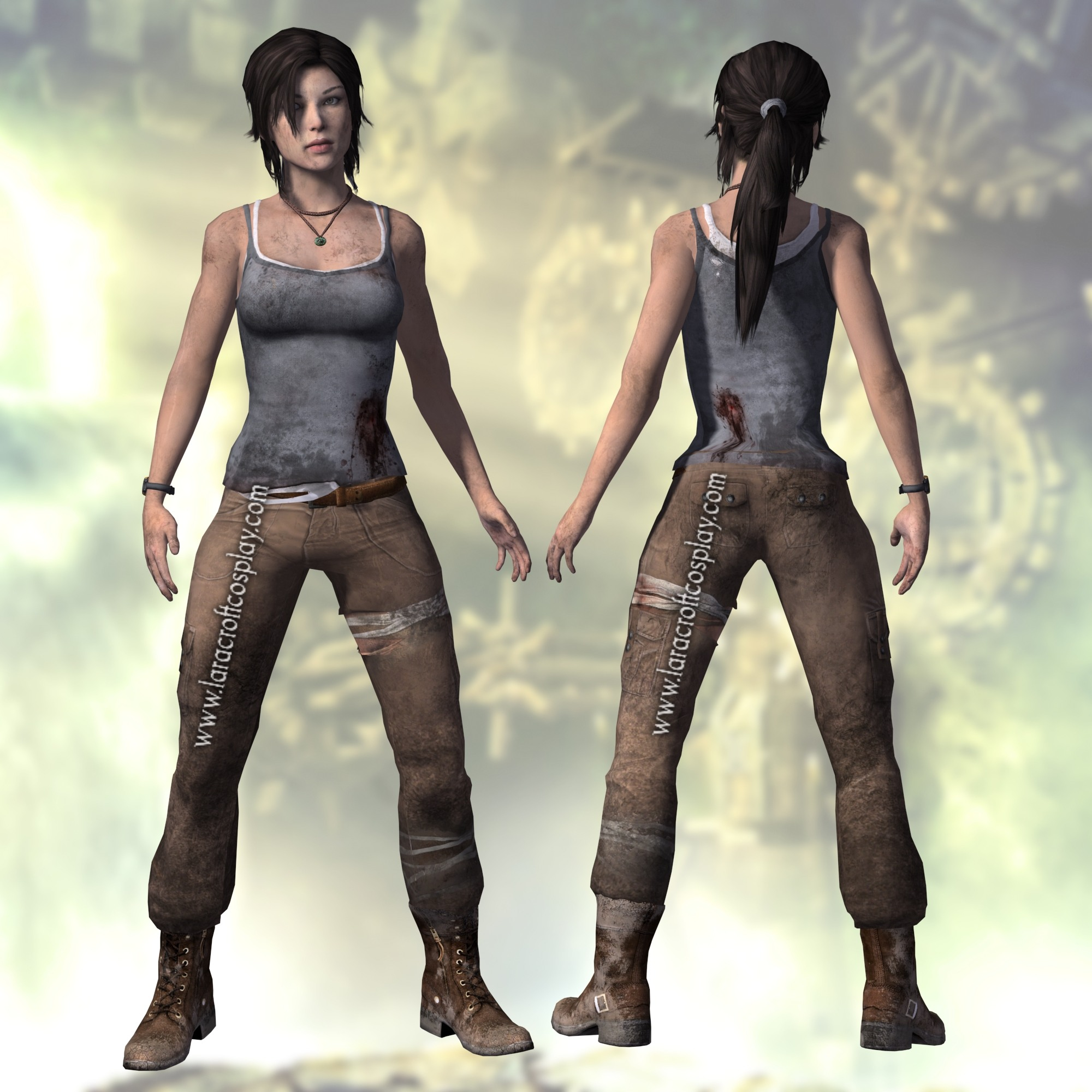 Tomb Raider Costume: COMPLETE REFERENCE PICTURES FOR THE TOMB RAIDER 2013